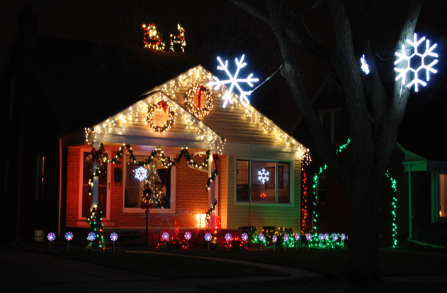 city beautiful commission selects best dearborn christmas decorations