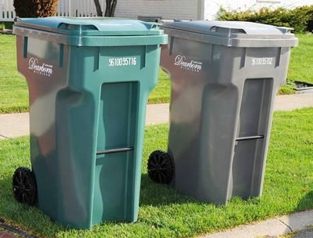 Trash Recycling And Yard Waste